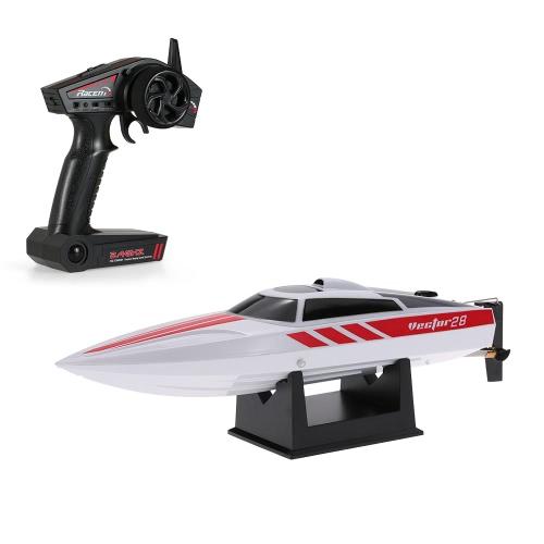 Volantex Vector28 795-1 2.4GHz Brossé 30km / h Piscine haute vitesse RTR RC Racing Boat