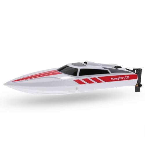 Volantex Vector28 795-1 2.4GHz 30km / h RCレーシングボート - レッド