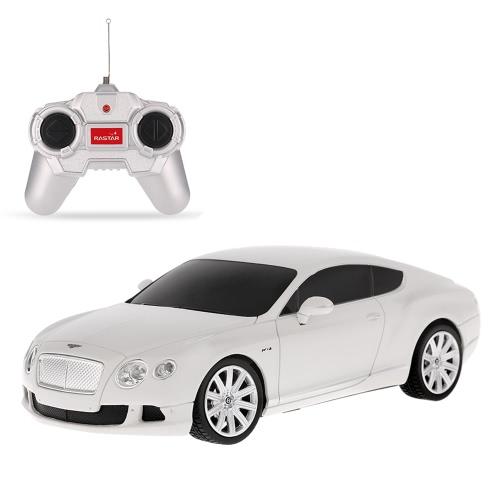 Original RASTAR 48600 R/C 1/24 Bentley Continental GT Speed Radio Control Car Toy Boys Gift