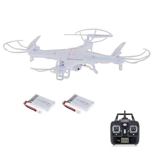 Drone originale di Syme X5C 2.4GHz 4CH 6-Axis Gyro RC Quadcopter 2.0MP HD con una batteria supplementare