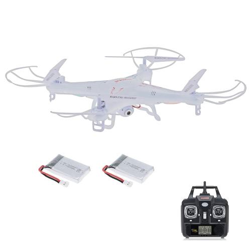Syma X5C 2.4GHz 4CH 6-Eixo Gyro RC Quadcopter 2.0MP HD Camera Drone com uma bateria extra