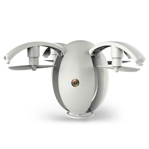 Kai Deng K130 ALPHA 0.3MP Wifi FPV Kamera Transformable Egg Drone Height Trzymaj czujnik G Składany Quadcopter Sterowanie APP