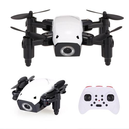 Oryginalny aparat S9W 2.4G 4CH 0,3MP WIFI FPV Wysokość minimalnego drania przytrzymaj plan lotu Składany pilot Quadcopter