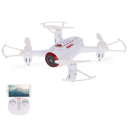 Oryginalny aparat fotograficzny Syma X22W Wi Fi FPV 0,3MP Kamera Selfie Drone 2,4 G 4-osobowa sześ cioosiowa statyw z 6 osiami Wysoka wysokość samolotu Przytrzymaj RT Quadcopter RTF