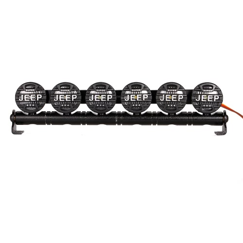 Austar AX525RB多機能超高輝度LEDライト1/10 SCX10用の6スポットライト90046 D90モデルクローラーRCカー