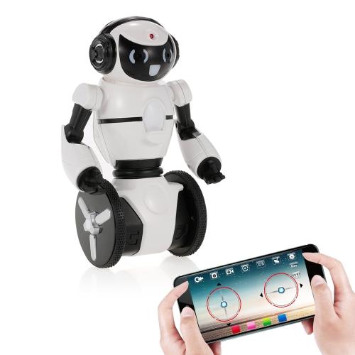 Wltoys F4 0.3MP Câmera Wifi FPV APP Controle Inteligente G-sensor Robô Super Carrier Presente de brinquedo RC para crianças Entretenimento infantil