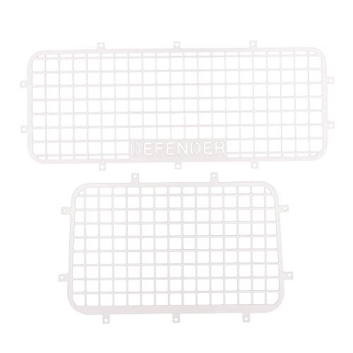 Filet de protection de maille de fenêtre en métal pour 1/10 RC pièces de Traxxas Trx-4 de voiture de chenille de RC