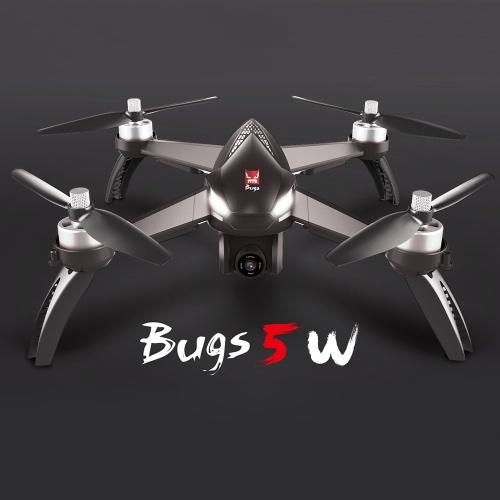 MJX Bugs 5W 5G Wifi FPV RC Drone Quadcopter Grey