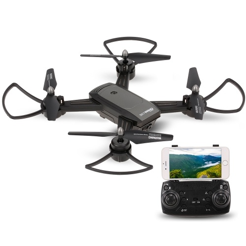 Lead Honor LH-X34F 720P Wide Angle Camera Wifi FPV Optical Flow Positioning V-Sign Auto-Photo Altitude Hold RC Training Drone