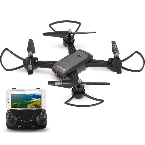 Levar Honra LH-X34F 720 P Grande Angular Câmera Wifi FPV Fluxo Óptico de Posicionamento V-Sign Auto-Foto Altitude Manter RC Treinamento Drone