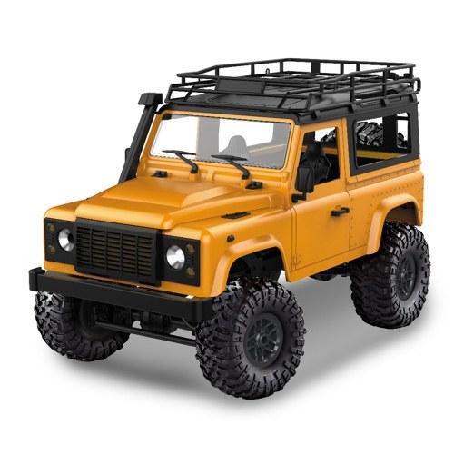 MN-D90 Rock Crawler 1/12 4WD 2.4G Telecomando ad alta velocità Off Road Truck RC Auto Led Light RTR