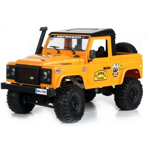MN-D91 Rock Crawler 1/12 4WD 2.4G Remote Control High Speed Off-Road Truck Image