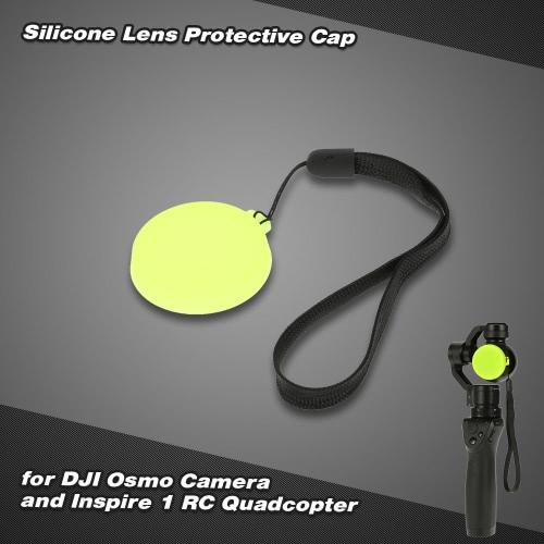 シリコーン レンズ保護ぢ Osmo カメラ用キャップし、1 RC Quadcopter を刺激