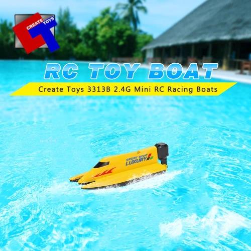 Original erstellen Spielzeug 3313B 2,4 G 2-Kanal Mini RC Sport Boote
