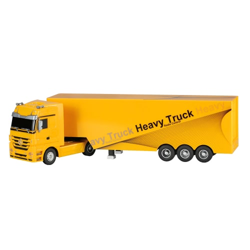 RUICHUANG QY1101 1/32 2.4G Heavy Truck - Yellow