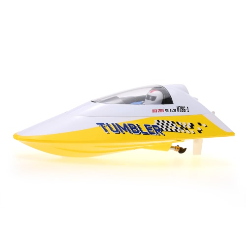 Volantex TUMBLER V796-1 25KM/H 2.4GHz RC Racing Boat - Red