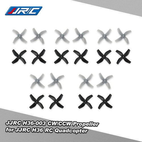 10 coppia originale JJR / C H36-003 CW / CCW Elica per Inductrix JJR / C H36 RC Quadcopter