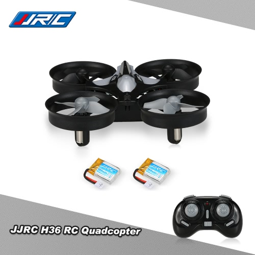 JJRC(JJR/C) H36 2.4G 4CH 6-Axis Gyro 3D-Flip Headless Mode Anti-Crush UFO RC Quadcopter Drone with one Extra Battery
