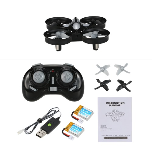 JJRC H36 2.4G mini RC Quadcopter Two Battery combo RM7391GY