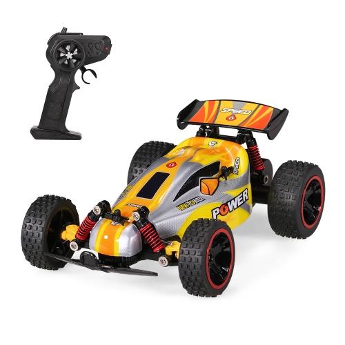 ルイ・チュアン QY1801B 1/18 2.4G 2CH 2WD電動オフロードバギークロスカントリーレーシングRCカー