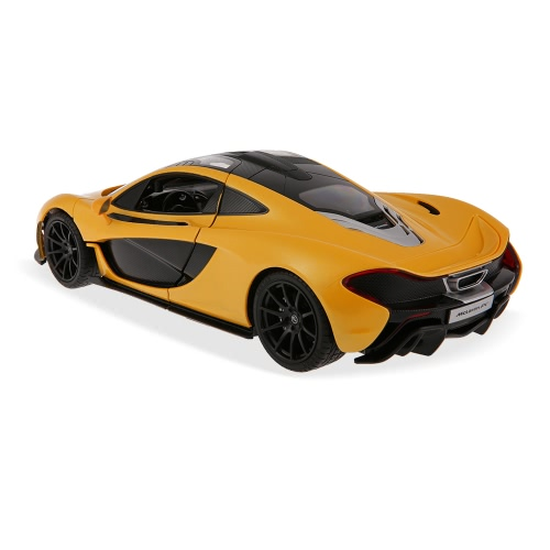 RASTAR 75110 27MHz 1/14 McLaren P1 RC Super Sports Car Simulation Model with Manual Open Door RTR