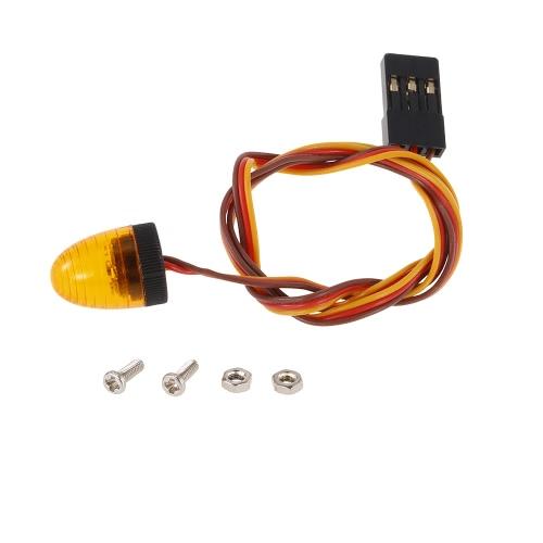 Austar AX-516B 5 modi disponibili LED ultra luminoso per 1/8 1/10 CC01 D90 SCX10 4WD camion corto per camion cingolato RC