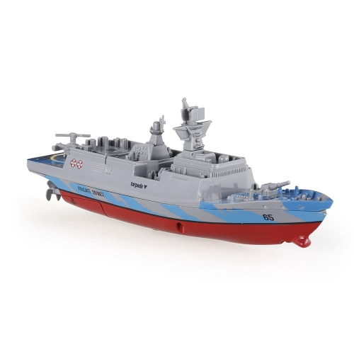 Create Toys Sea Wing Star 3318 2.4GHz All Direction Navigate Mini Radio Control Electric Warship Boat RTR