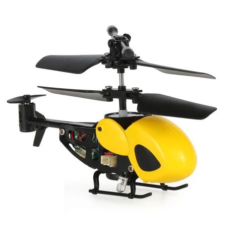 QS QS5012 2CHマイクロ赤外線ヘリコプターRCドローン機