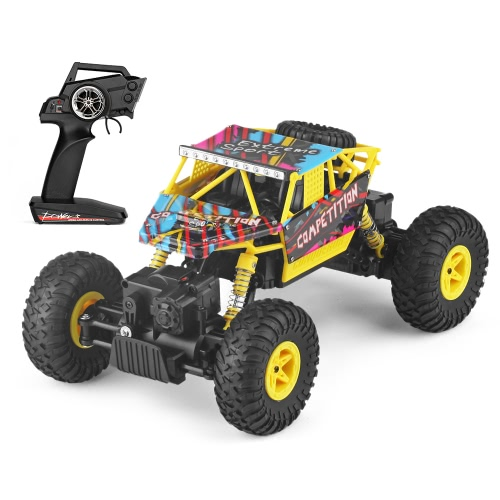 WL Tech 18428C 2.4G 1:18 Scale 4WD Double Steering Gear Electric RTR Climber RC Car