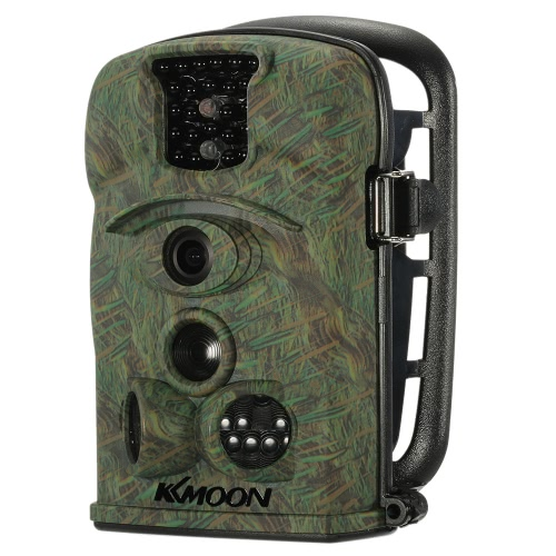 KKmoon  12MP 720P 120° Wide Angle HD 850nm IR IP54 2.4inch LED Screen Game Camera Security Scouting Hunting Trail Camera