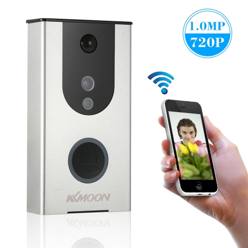 KKmoon 720P WiFi Visual Intercom Video Doorbell