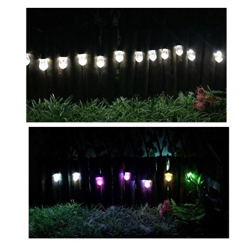 12szt LED Solar Wodoodporny odkryty wiszące Lights String