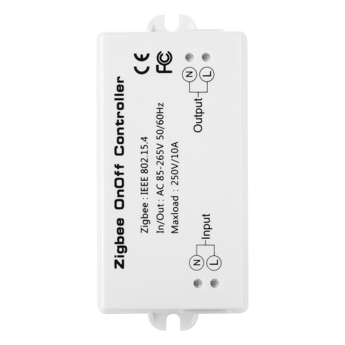 Zigbee On/Off Controller S-mart Switch APP Remote Control Intelligent Home Module Light Dimmer Controller Zigbee Bridge Hub AC85-265V 10A