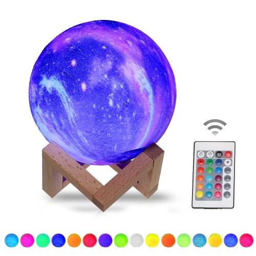 10cm/3.94in 3D Printing Star Moon Lamp