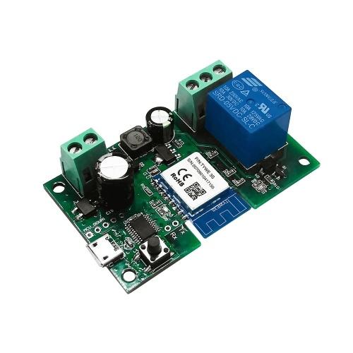 Tuya DC5V 12V 24V 32V WiFi Switch Módulo de relé sem fio