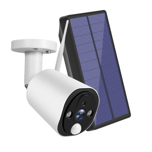 Solarbetriebene drahtlose Überwachungskamera