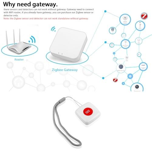 Tuya Zigbee Wireless Remote Call Button