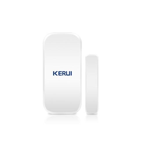 KERUI D025 433MHz Detector de alarma de sensor de imán de puerta de ventana inalámbrico