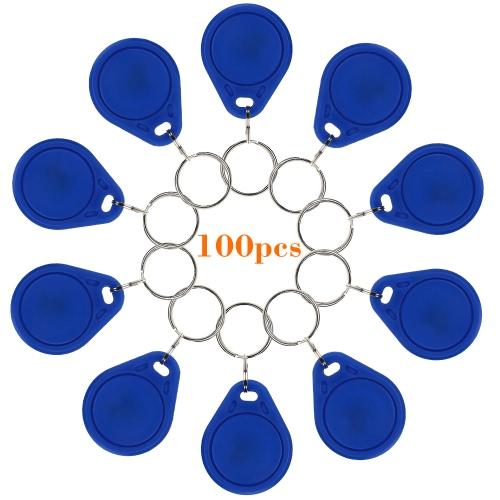 100 ピース書き込み可能な RFID EM4305 スマートキー EM カード 125 KHz 近接ドア制御エントリ アクセス