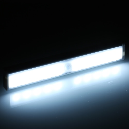 10 Super-Bright LED Auto czujnik ruchu PIR Light Wireless Sensor Lamp