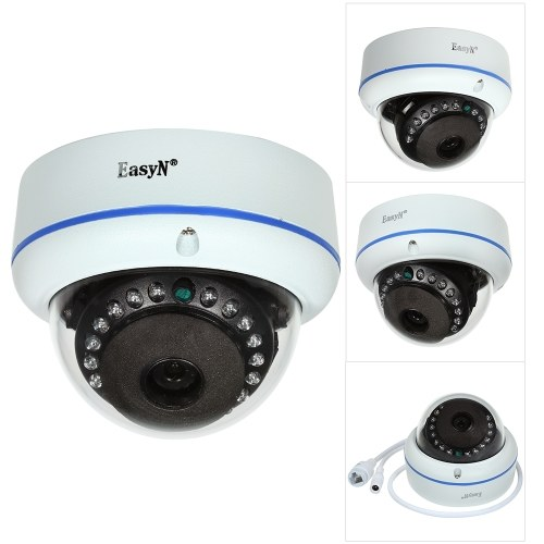 Câmara IP EasyD HD 4MP POE Dome
