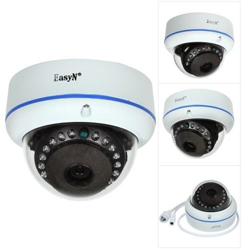 EasyN HD 4MP POEドームIPカメラ