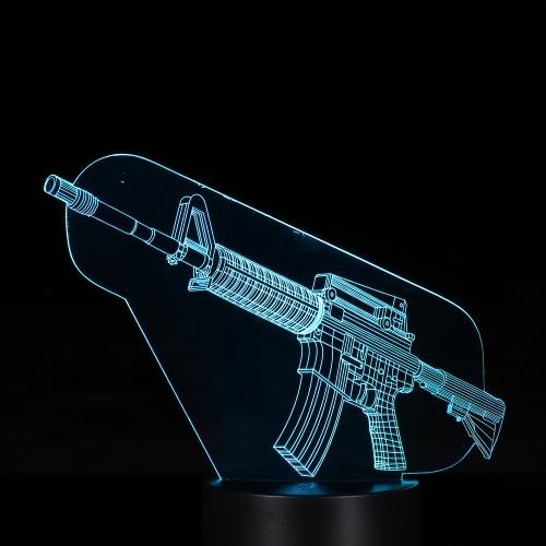 Kreatives 3D LED Illusion-buntes Tabellen-Nachtlicht