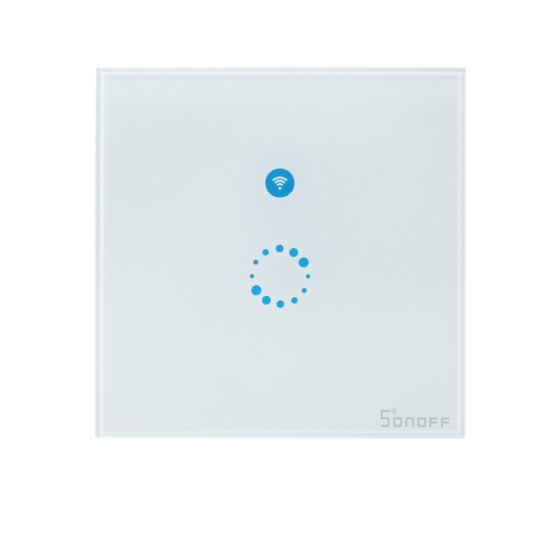SONOFF T1 1 Gang Smart WiFi luz de parede interruptor do Reino Unido