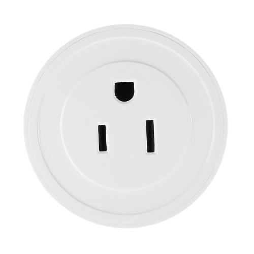 Image de 1 Pack Wi-Fi Sans Fil Mini Smart US Plug Compatible avec Amazon Alexa et pour Google Home / Nest IFTTT Pour TP-Link