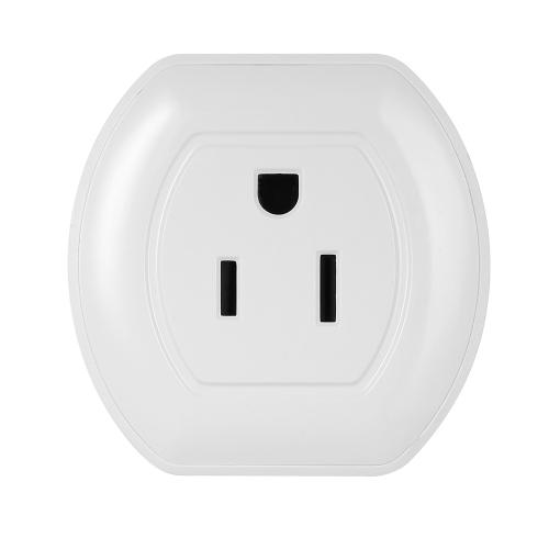 Plugue inteligente Mini Wifi com interruptor On / Off