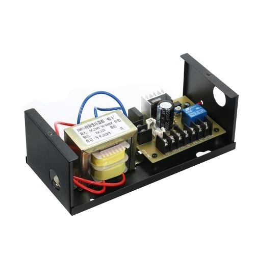 Система контроля доступа к двери Блок питания Блок управления Переключатель питания 3A DC 12V True Copper Coil
