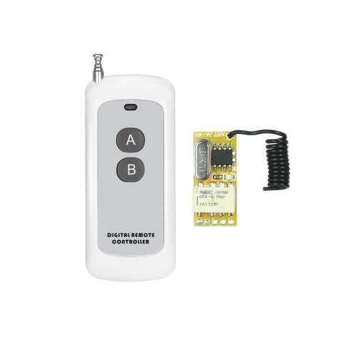 433 Mhz DC 3.7 V 4.5 V 5 V 6 V 7.4 V 9 V 12 V Módulo Receptor Universal RF Interruptor de Controle Remoto