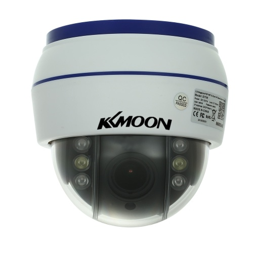 Cámara IP KZmoon HD 1080P inalámbrica WIFI Dome PTZ