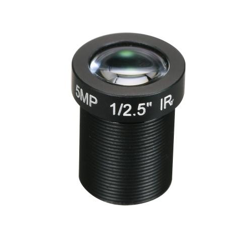 HD 5.0メガピクセル5MP 16ミリメートルM12 CCTVボードレンズIPカメラレンズ